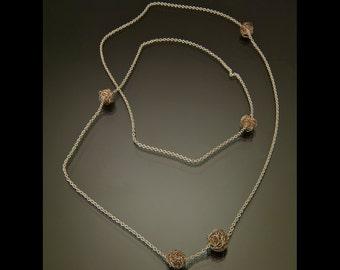 "Multiple ""Nest"" Necklace"