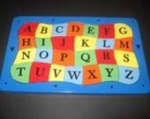 ALPHABET - Wooden JIgsaw Tray Puzzle