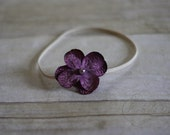 Simple Purple Flower Headband