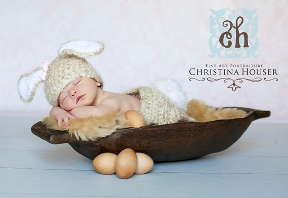 Beige Faux Fur Rug Nest Photography Photo Prop 27x20 Newborn Baby Toddler Mat