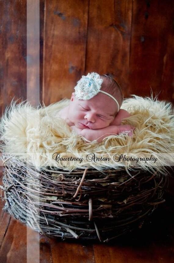 Wood Branch Nest, Owl Nest, Bird Nest, Newborn Nest, Newborn Photography, Baby Photography, Photo Prop, Beautiful Prop