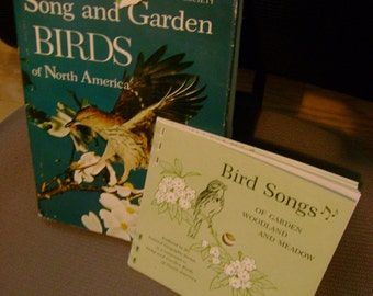 Wonderful Old Book National Geographic Song and Garden Birds of North America by Alexander Wetmore