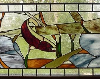 Stained Glass Steelhead That Got Away