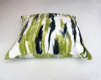 SALE felted pillow 'seaweed' Copy