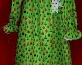 Girls Christmas nightgown