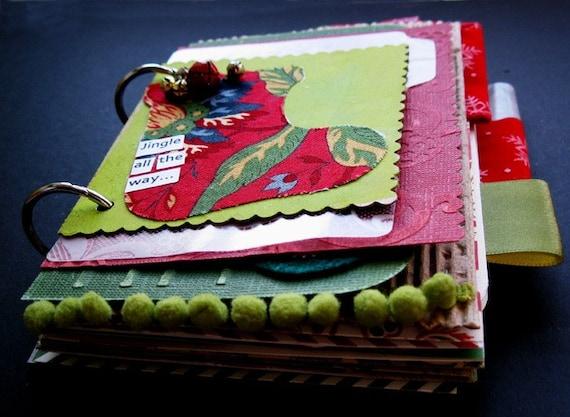 Christmas Advent Mixed Media Art Journal Kit