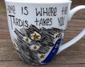 Doctor Who Home Is Where The Tardis Takes You Coffee Mug Tea Cup MMMug Dr. Who
