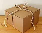 Kraft Paper Gift Wrap Kit for Larger Gifts