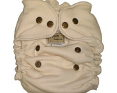 Bamboo Fleece OS Serged Fitted Diapers Seconds