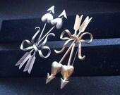 Sterling Silver Signed Arrows