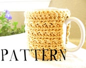 Crochet Mug Cozy Pattern PDF - Okay to sell finished product