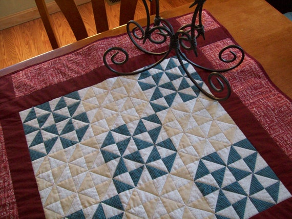 Mini Broken Dishes Pattern Quilt
