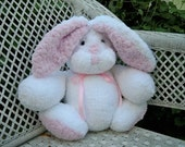 plush stuffed bunny