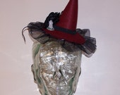 reserved for taken by the sky tombstone mini witch hat