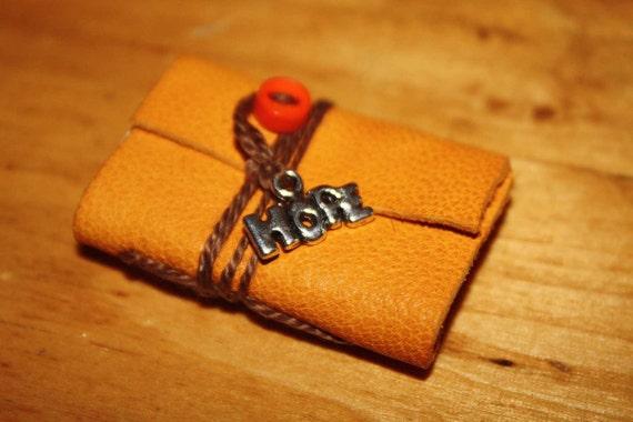 Handmade miniature book