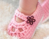 Mary Jane Shoes - Crochet Pattern - Baby Booties - Slippers Pattern - Crochet Mary Janes - Girl Shoes - Easy - Dress Shoes