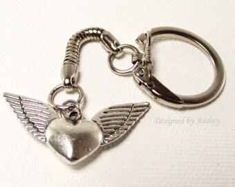 Key Ring - Angel Wings of Love Key Chain