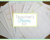 Teacher's Planning Kit - 8 documents - CleanMamaPrintables