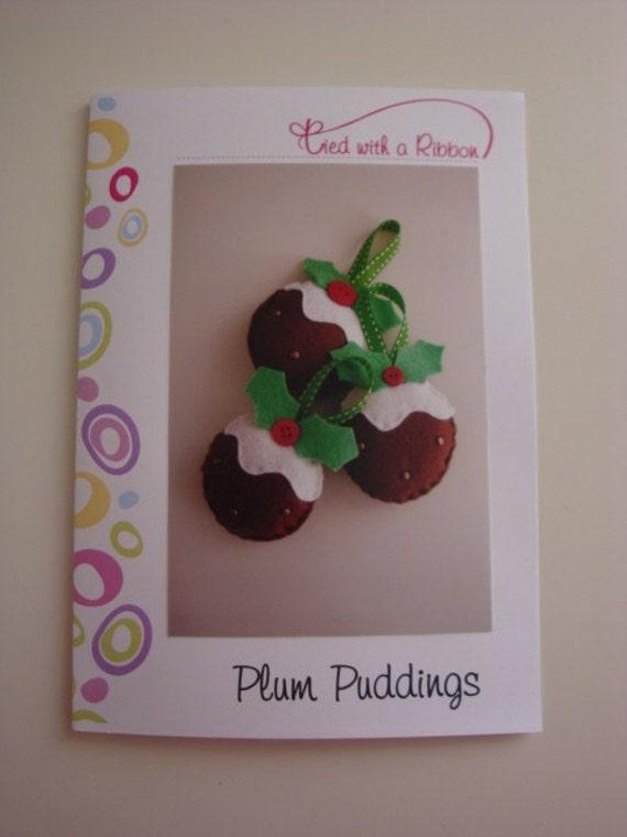 Plum Pudding Felt Kit