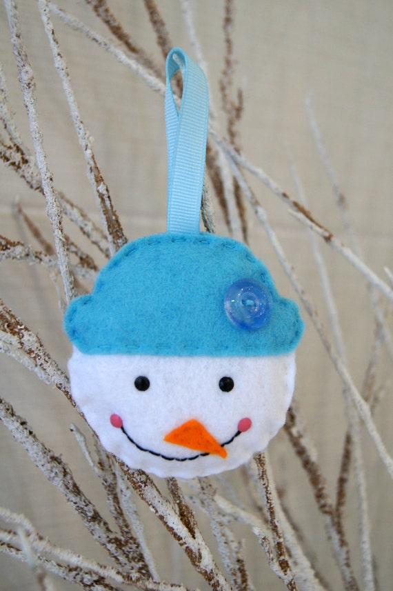 Felt Snowman Decoration