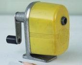 Yellow Midget Brand Pencil Sharpener