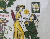 Vintage Crying Towel