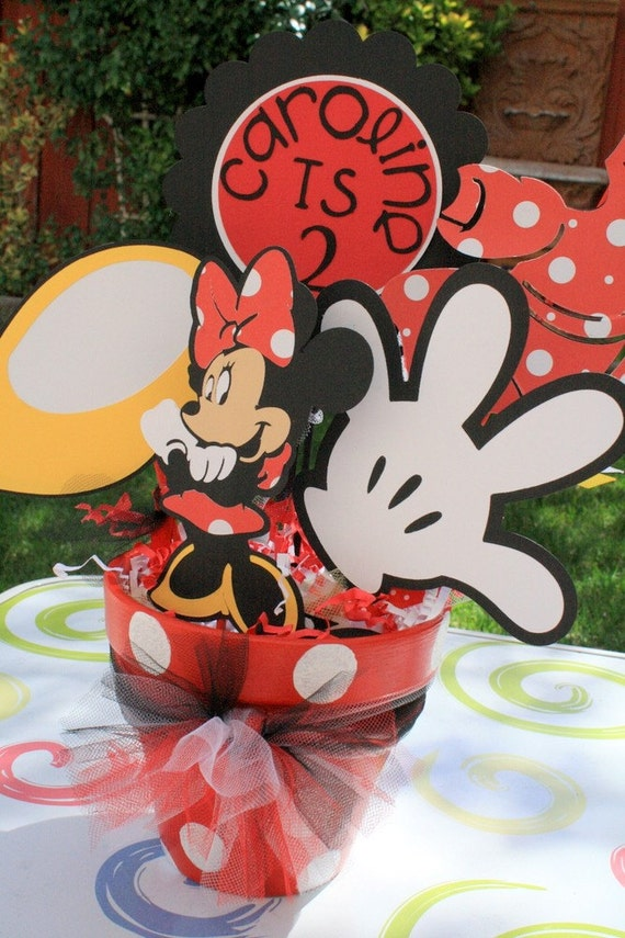 Items similar to minnie mouse red and white polka dot