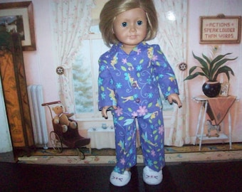 Tinkerbell pajamas fit American girl 18inch doll