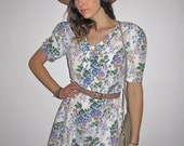 Clearance: Floral Romper (FREE SHIPPING w/n the USA)