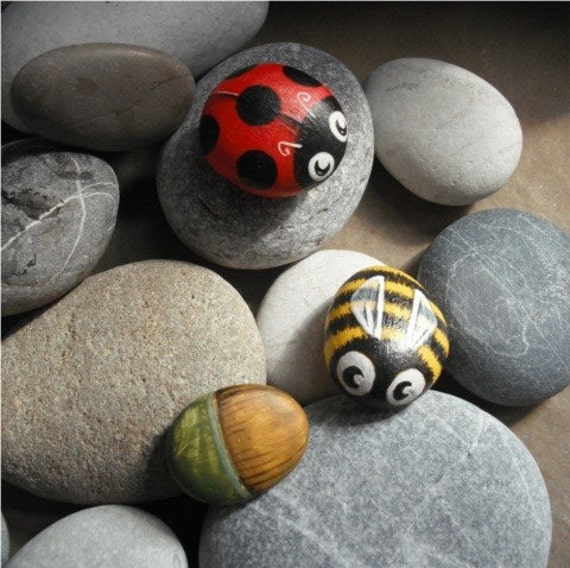 Bee and LadyB  Magnets