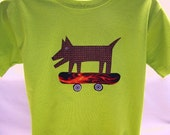 Crazy Sale Price on Mutley Dog On Flame Skateboard