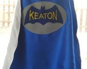 Custom Embroidered Vintage Bat Superhero Cape