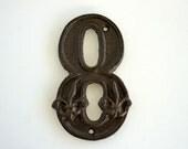 Vintage Number 8 Cast Iron