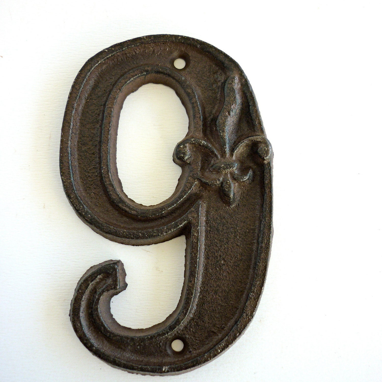 Vintage Number 9 Cast Iron
