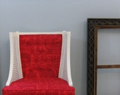Seeing Red Wingback Marimekko Chair's other half