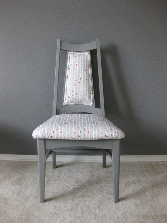 Grey Forest Chair