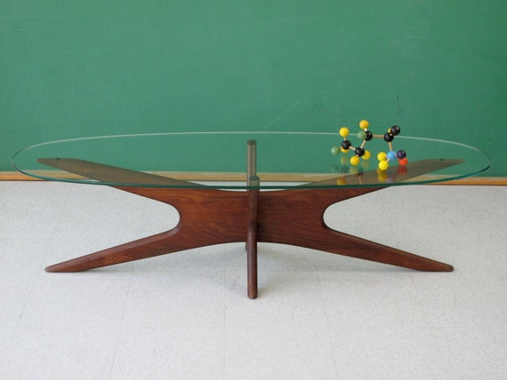 "RESERVED  /  Vintage Adrian Pearsall ""Jacks"" Coffee Table for Craft Associates, Danish Modern / Mid-Century Modern - FREE Shipping"