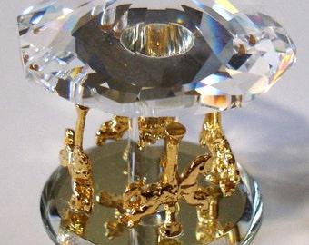 Crystal Carousel made with Swarovski Crystal
