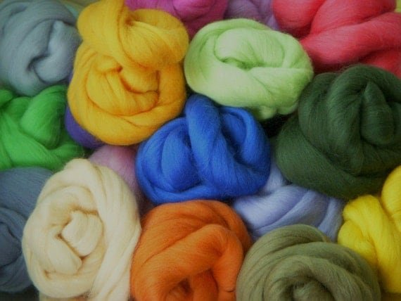 Merino Colonial Top Roving .5 Ounce