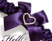 Wedding Garter, Bridal Garter, Boudoir Garter, Prom Garter - Lapis Garter SINGLE Other Colors Available