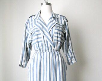Vintage Cotton Shirt Dress