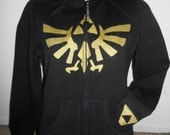 preorder Legend of ZELDA zip up hoodie adult
