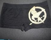 The Hunger Games MOCKINGJAY black boy shorts