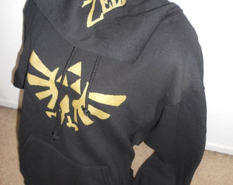 BLACK Legend of Zelda pullover hoodie adult PREORDER