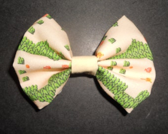 Legend of Zelda NES inspired hair bow or Bow Tie