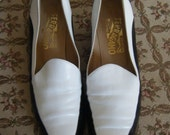 Vintage Ferragamo Loafers - Size 6 to 7A