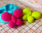 Butterfly (23mm) Silicone Flexible Push Mold - Miniature Food Sweets Jewelry Charms Cupcake (Clay Fimo Resin Wax Gum Paste Fondant) MD411