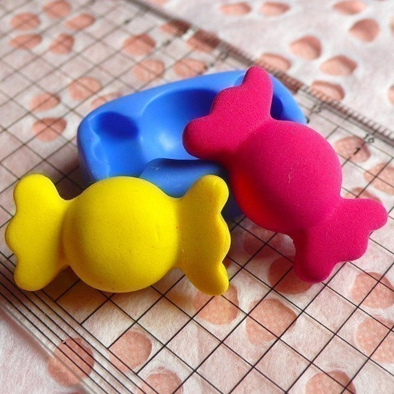 Silicone Mold Bow Tie Candy Mold Bowtie 27mm Kawaii Deco Sweets Fimo Polymer Clay Jewelry Charms Cabochon Resin Wax Flexible Fondant MD347