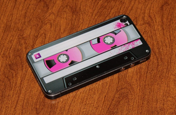 Iphone 4 cover - cassette