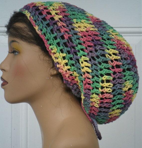 SALE--Lightweigfht Cotton Tam Cap Hat in Mixed Sherbert